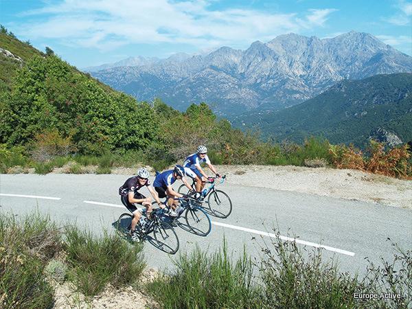 self guided bike tours sardinia